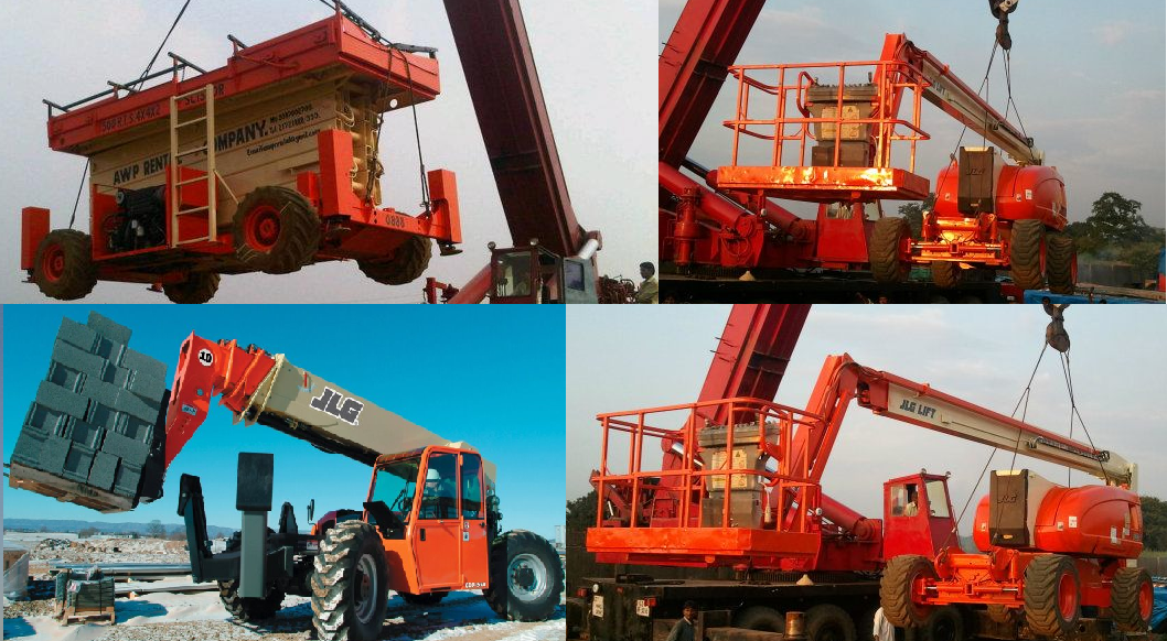 Boom lift Scissor Lifts